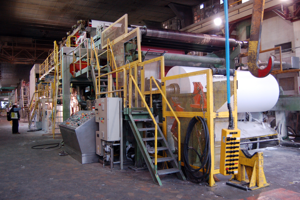 relocation of paper mill from Austria to Saudi Arabia